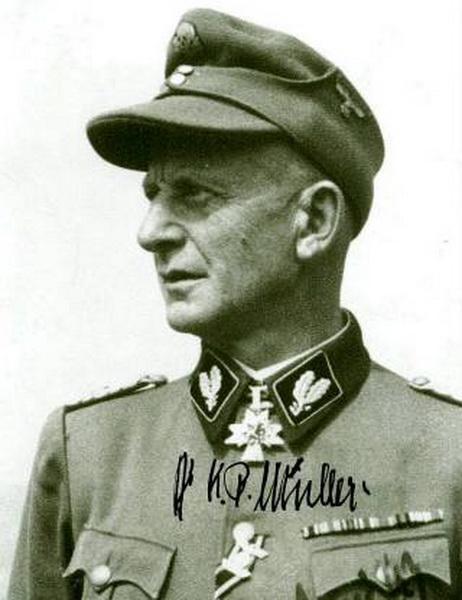 Müller, Kurt Peter. Brigadeführer (Schutzstaffel)