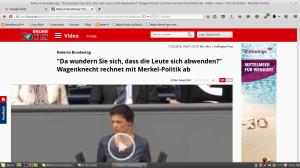Wagenknecht-rechnet-mit Merkel-ab